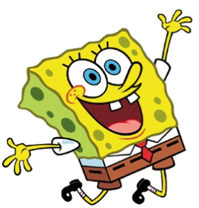 Thank you for 10 years of laughter, Spongebob. Photo from clubfreetime.com.