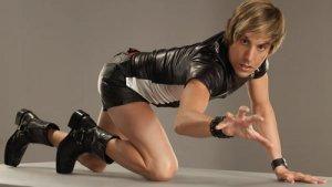 Meet Bruno, the Australian homosexual news reporter. Image from filmonic.com.