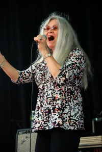 Donna Godchaux at the Mighty High Music Festival. (7.18.09.)