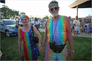 These two prove that the spirit of the 60s never died. Photo from nytimes.com.