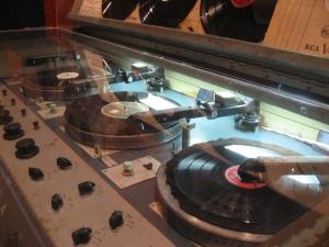 Rock the vinyl. Photo by Kate Langenburg.